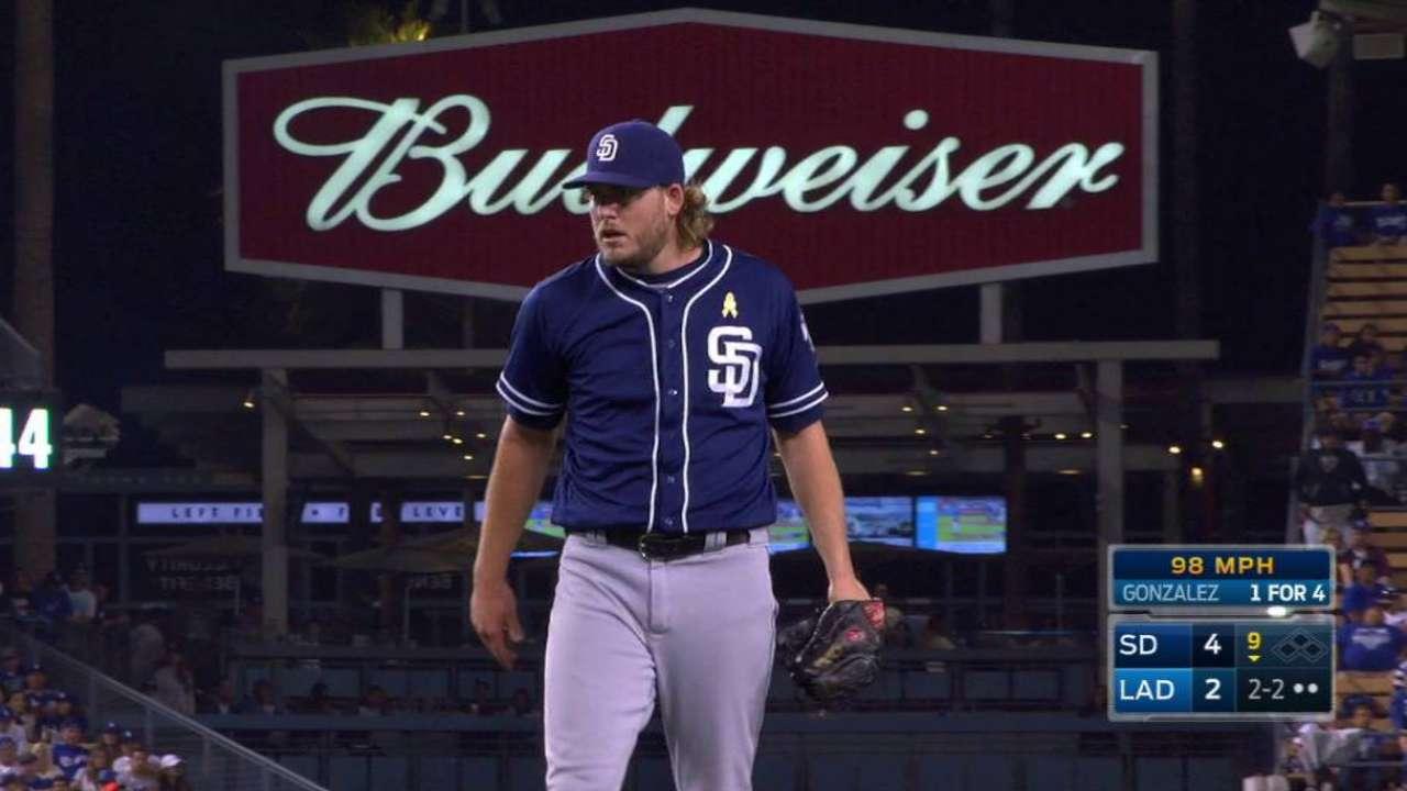 Padres' lockdown bullpen shows its stuff
