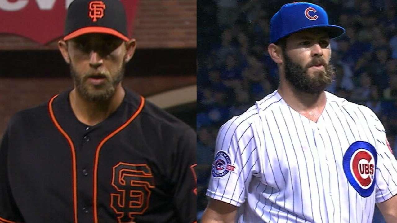Arrieta duels Bumgarner on MLB.TV