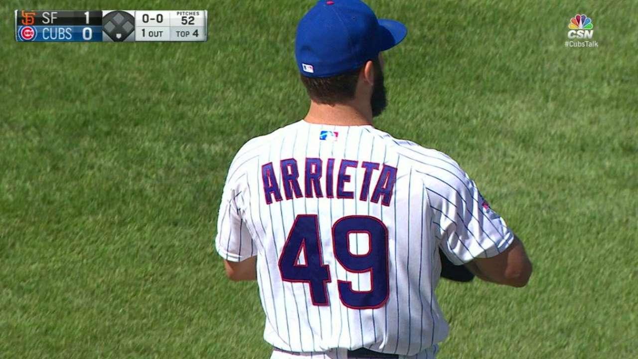 Lackey, Arrieta flipped for series in Houston