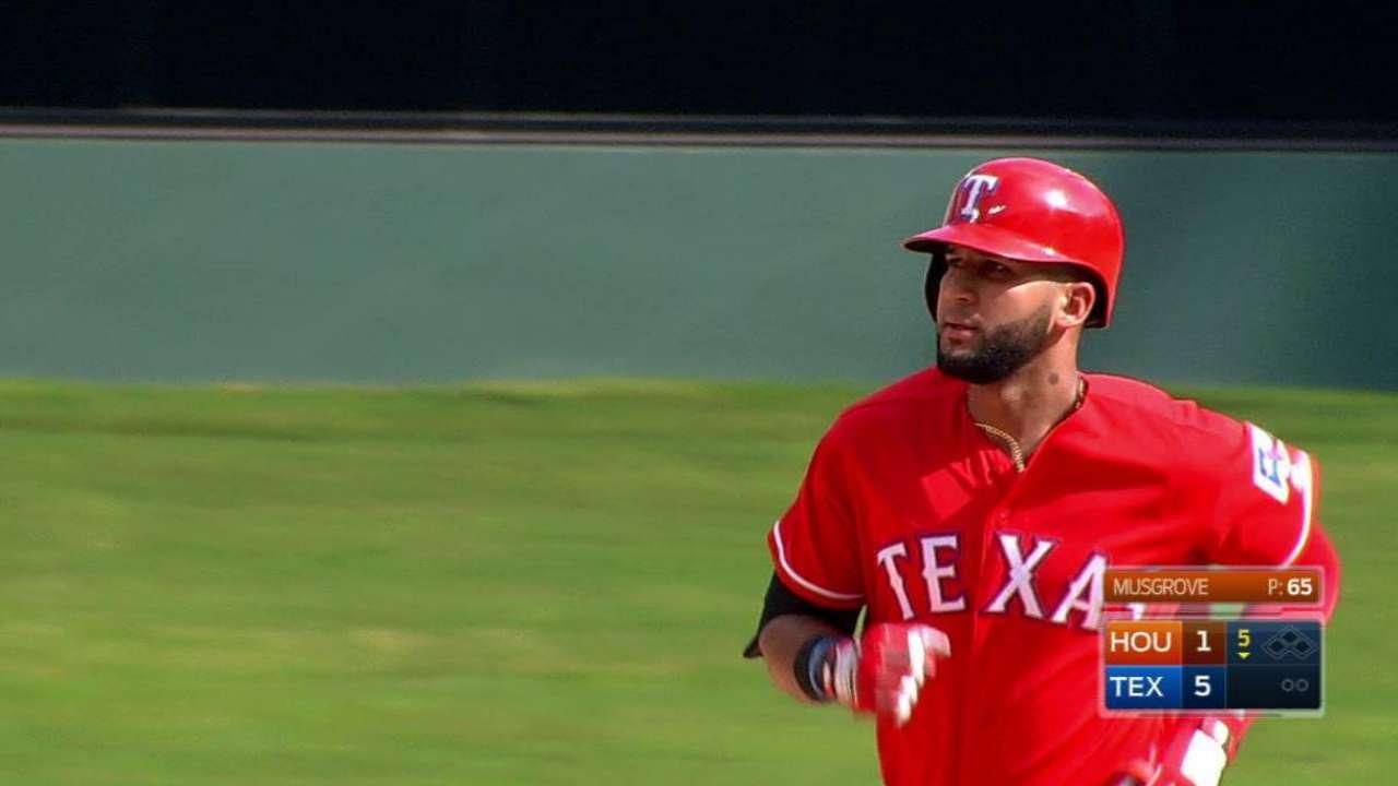 Mazara's two-run home run