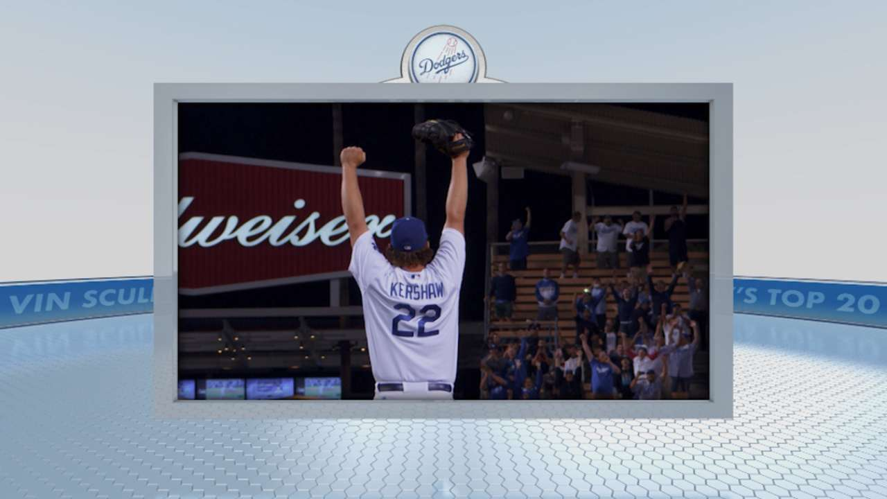 Vin Scully Top 20: #10 Kershaw