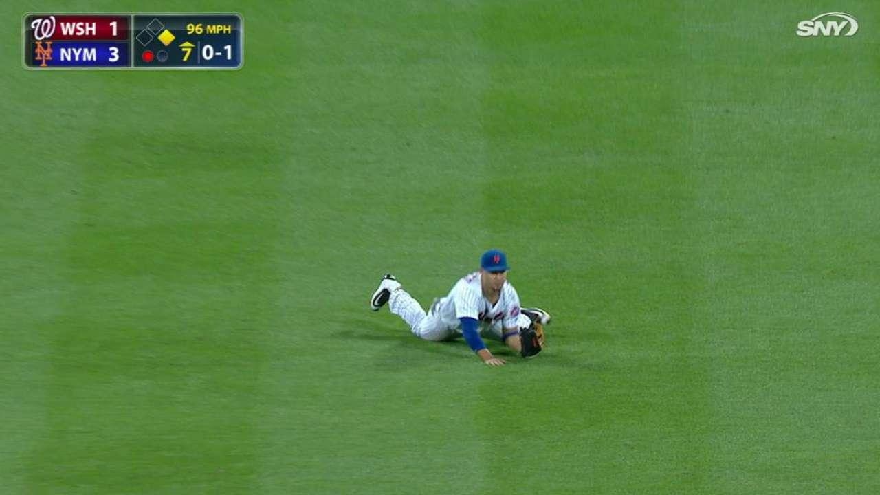 Conforto's amazing catch