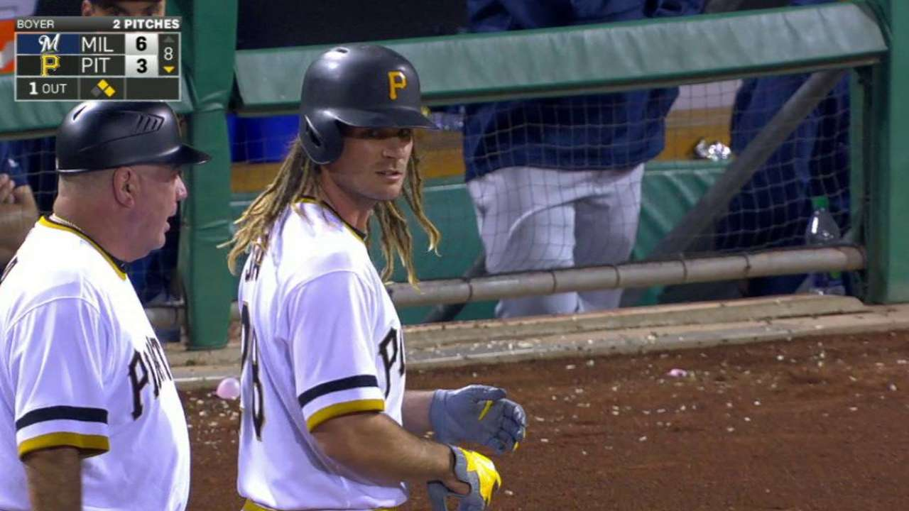Jaso's RBI in the 8th