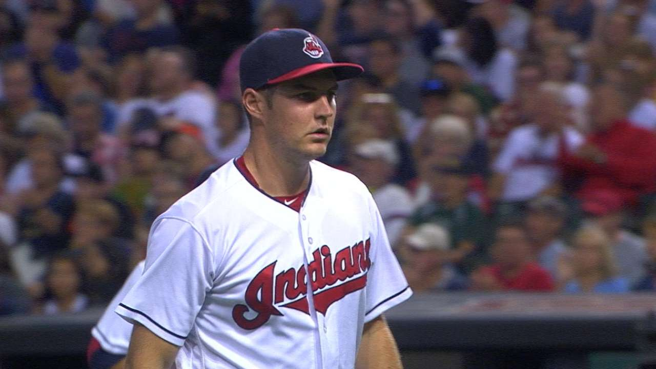 Bauer open to any postseason role for Indians