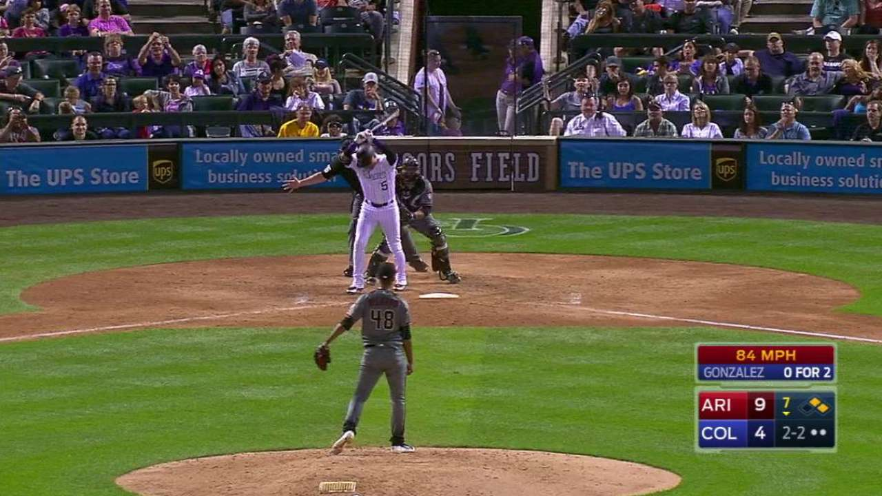 Delgado strikes out CarGo