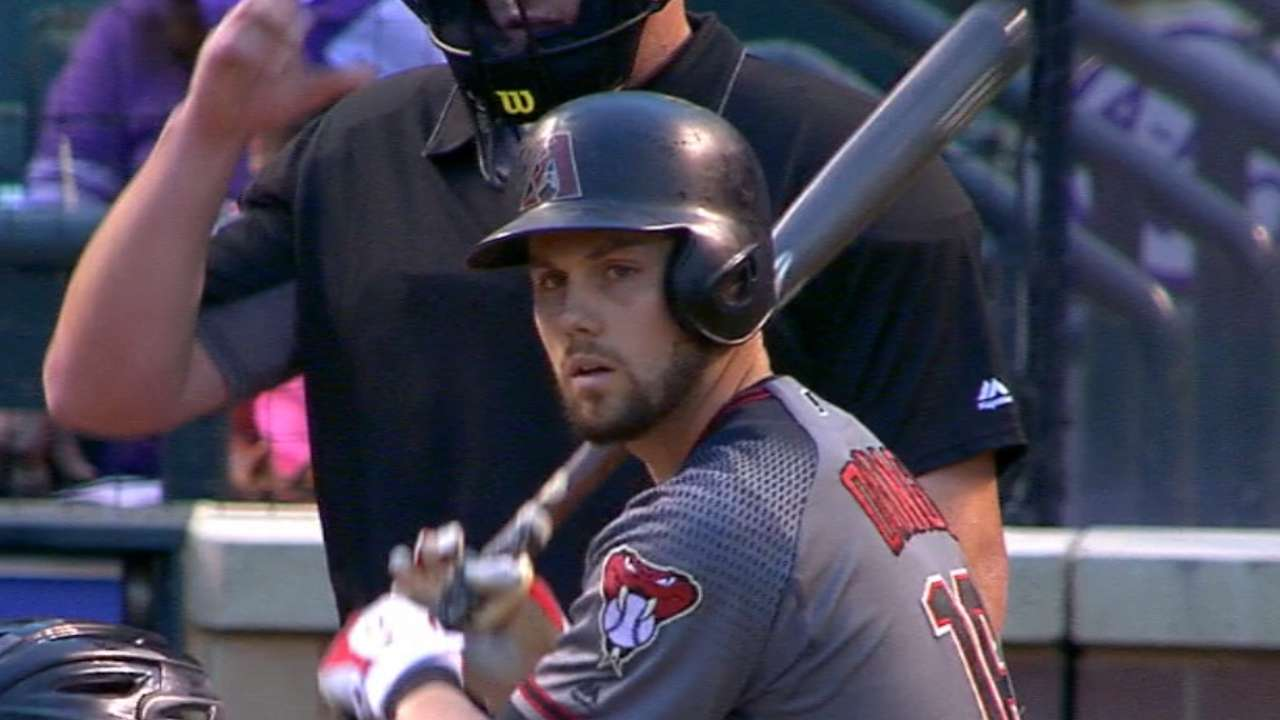 Owings' four-hit game