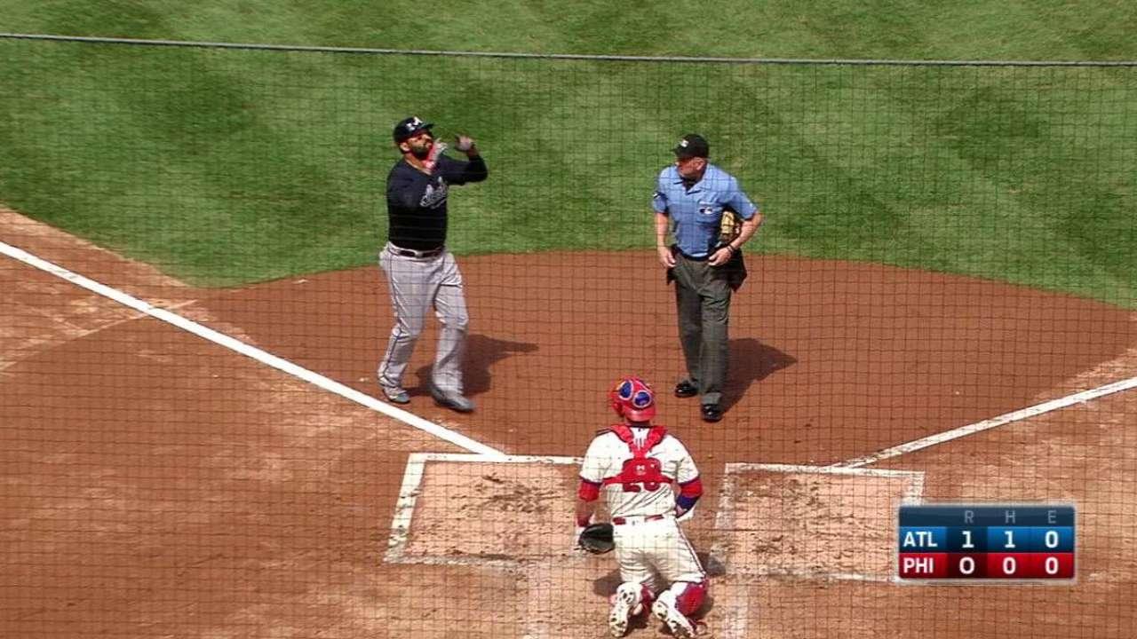 Kemp's solo smash