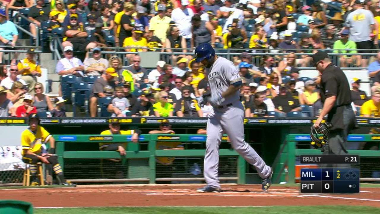 Santana's homer breaks the ice