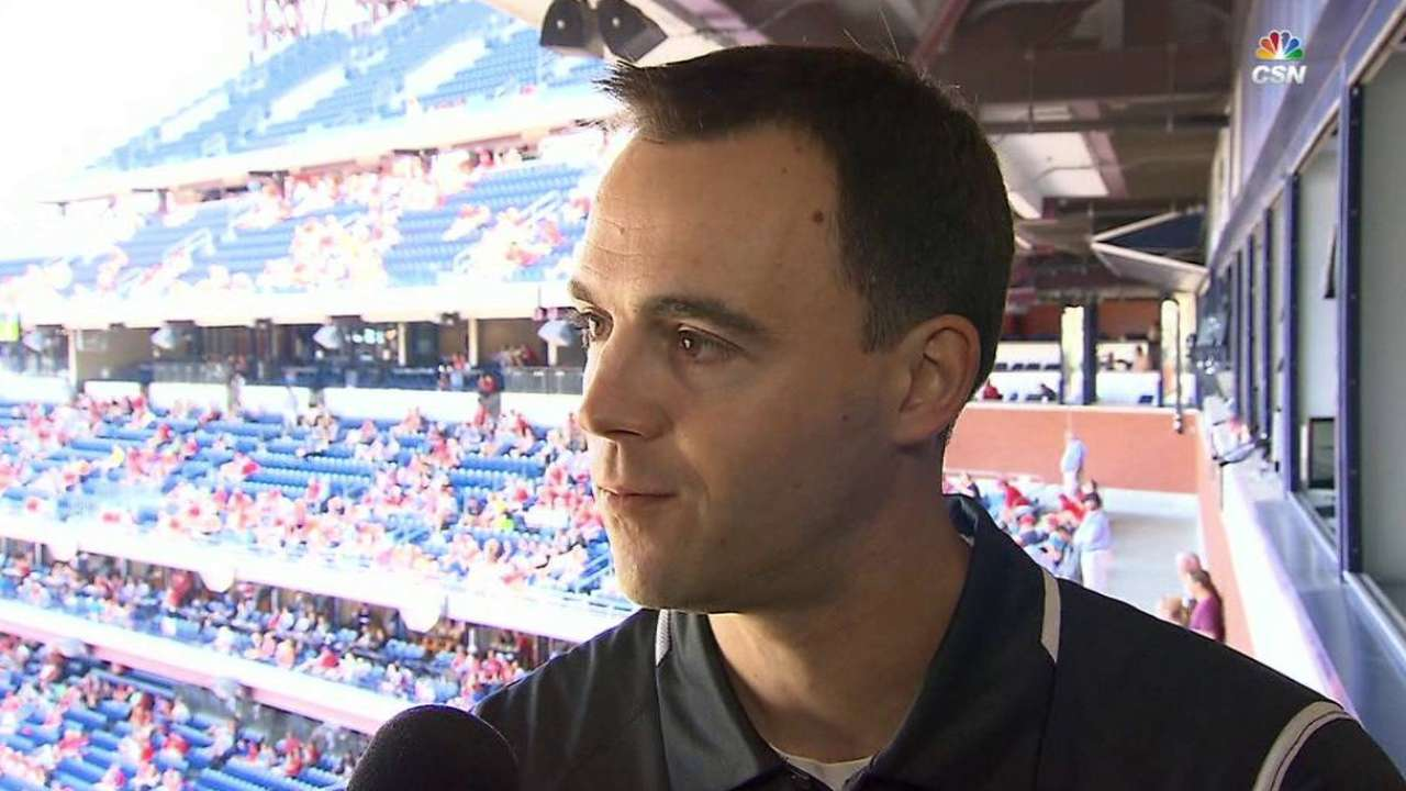 GM Klentak pleased with Velasquez's 2016 effort