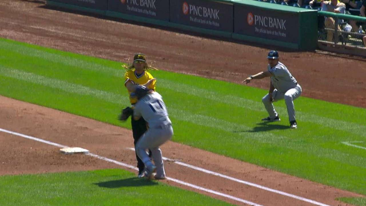 Counsell gets tossed in the 3rd