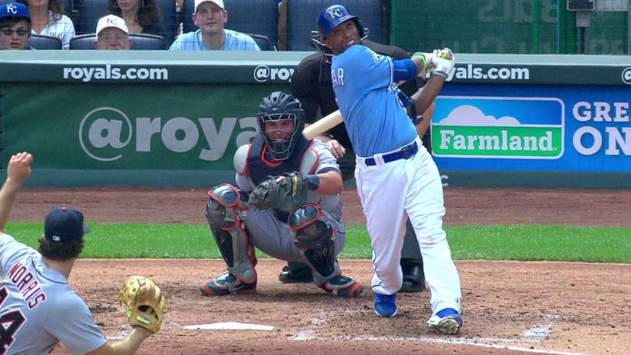 Escobar's solo home run