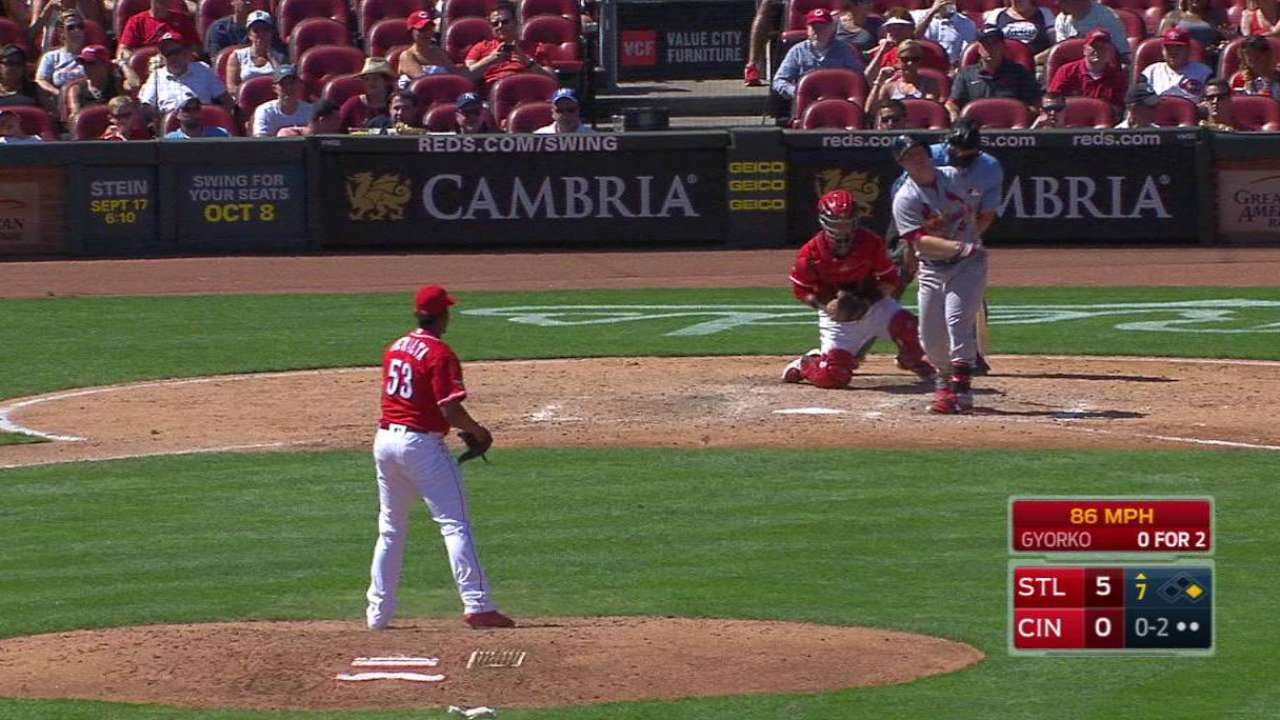 Peralta's first career strikeout