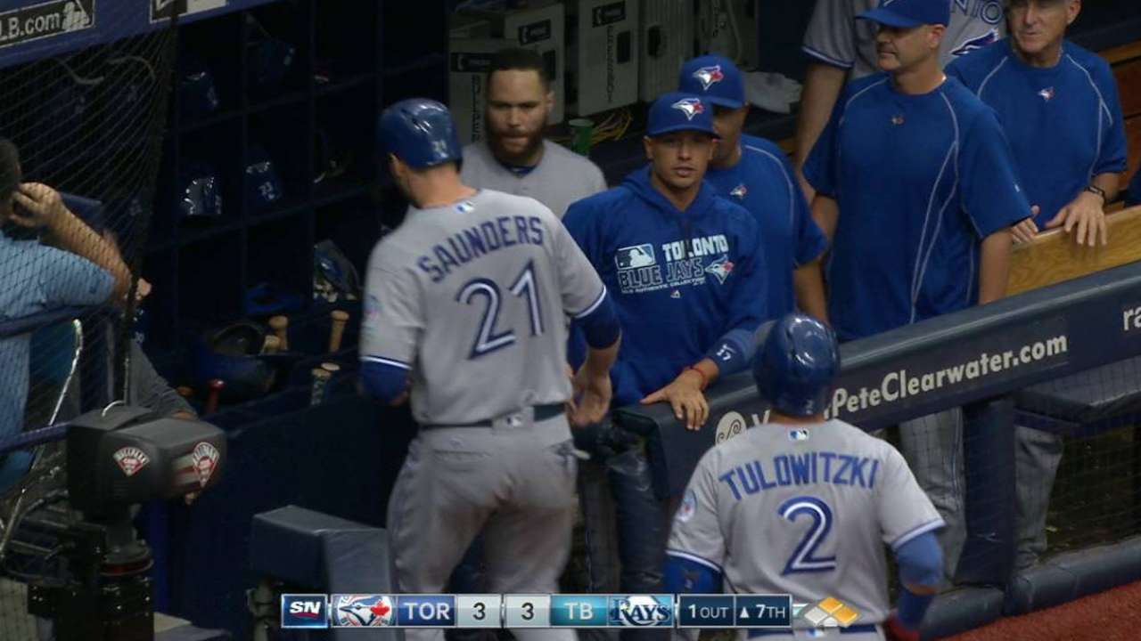 Travis jump-starts offense with game-tying hit