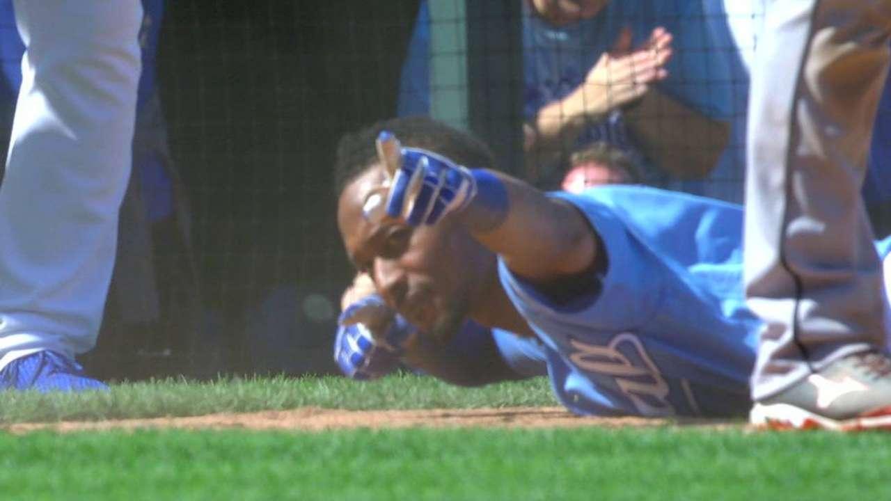 Dyson's two-run triple