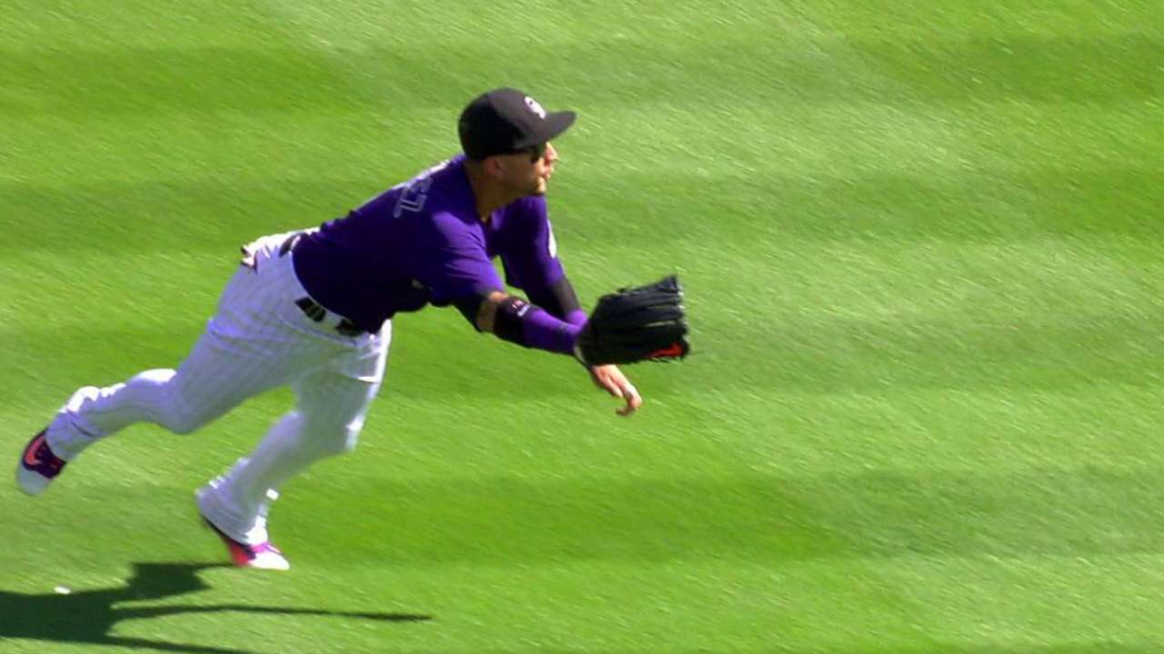 Gonzalez's stellar diving catch
