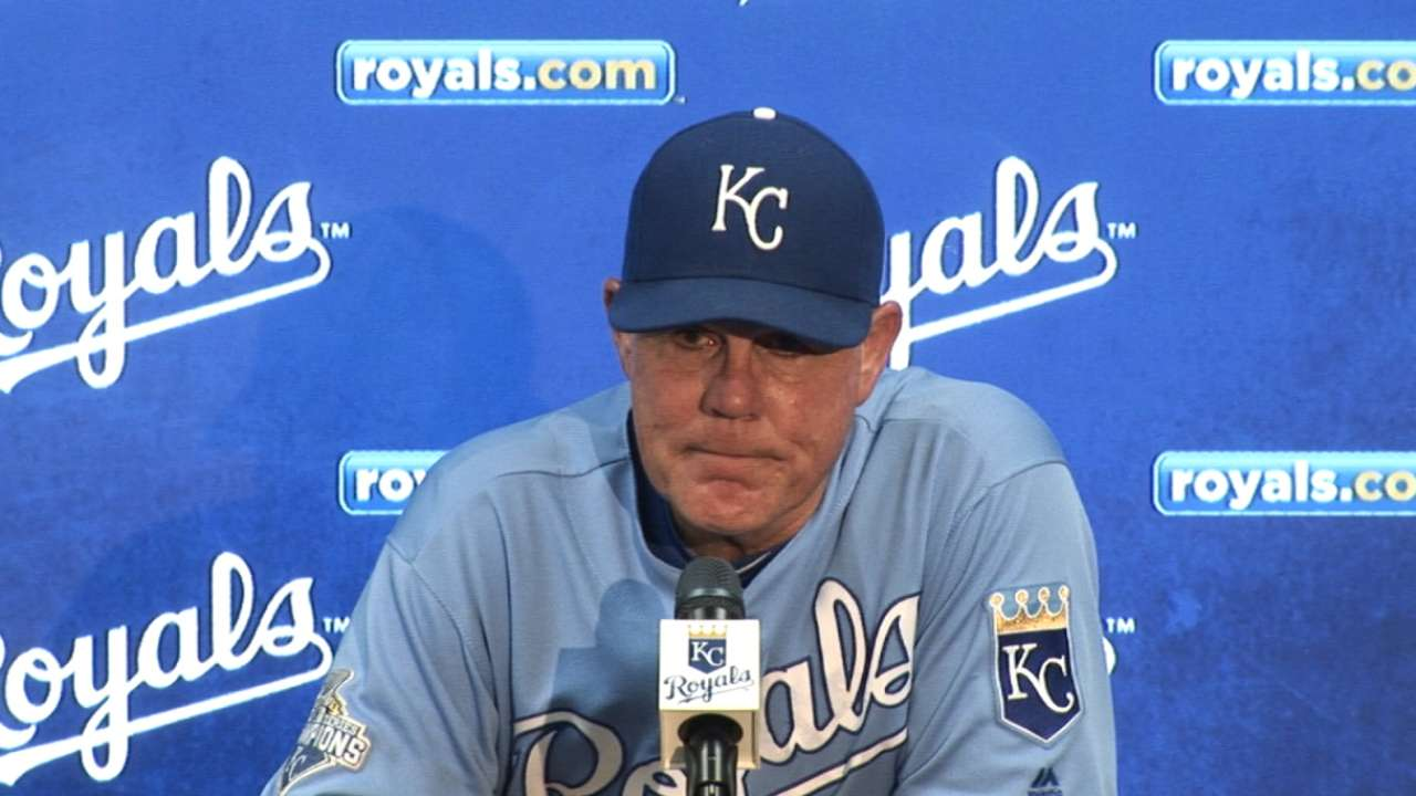 Yost on 6-5 loss to Tigers