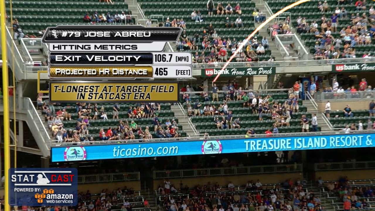 Statcast: Abreu's two homers