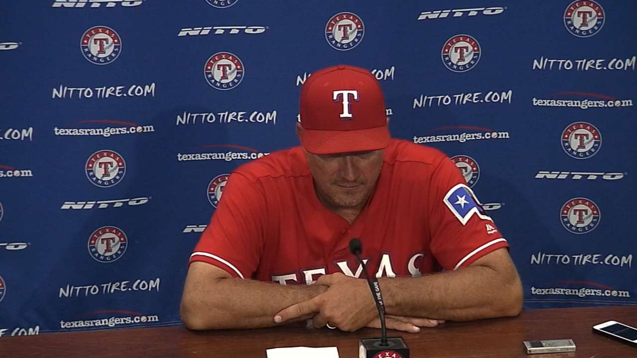 Banister on the loss, Darvish