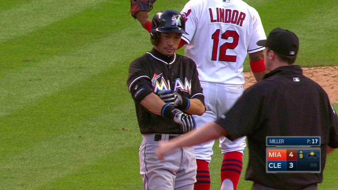 Ichiro's go-ahead double