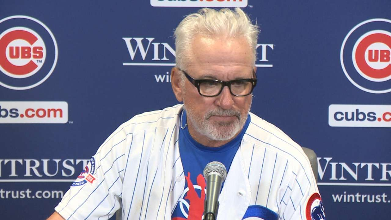 Maddon on the extra innings win