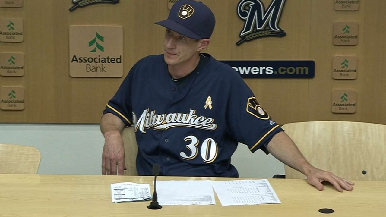 Counsell on Brewers' 7-2 loss