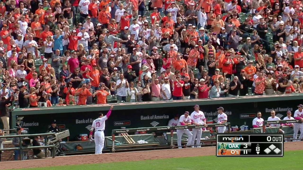 Machado has grand Mother's Day with 2 HRs
