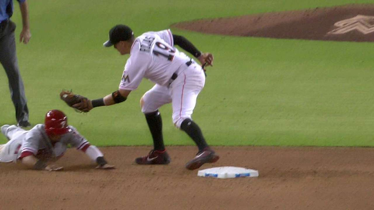 Rojas day to day after groin strain causes exit
