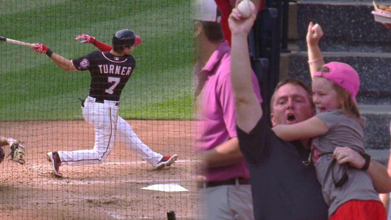 Turner's two-run home run