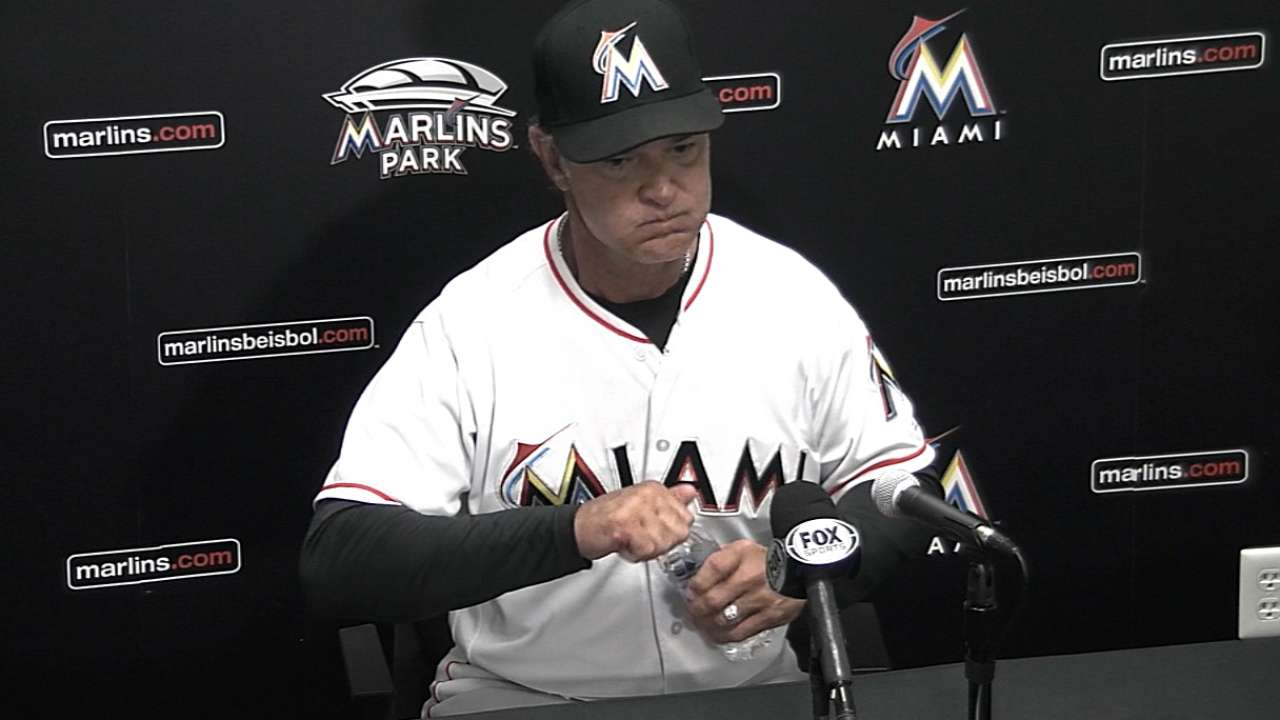 Lack of depth, experience highlighted by Marlins' loss