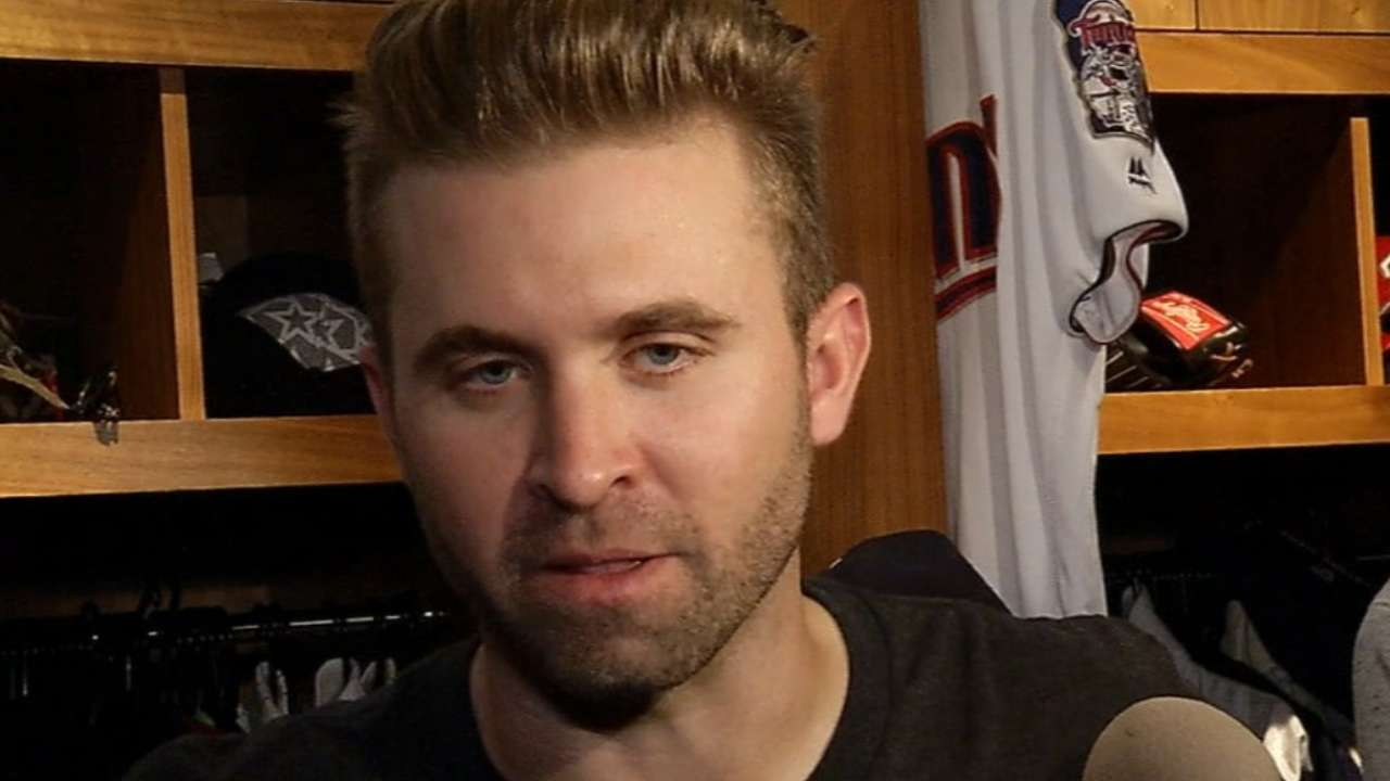 Dozier on his three-homer game