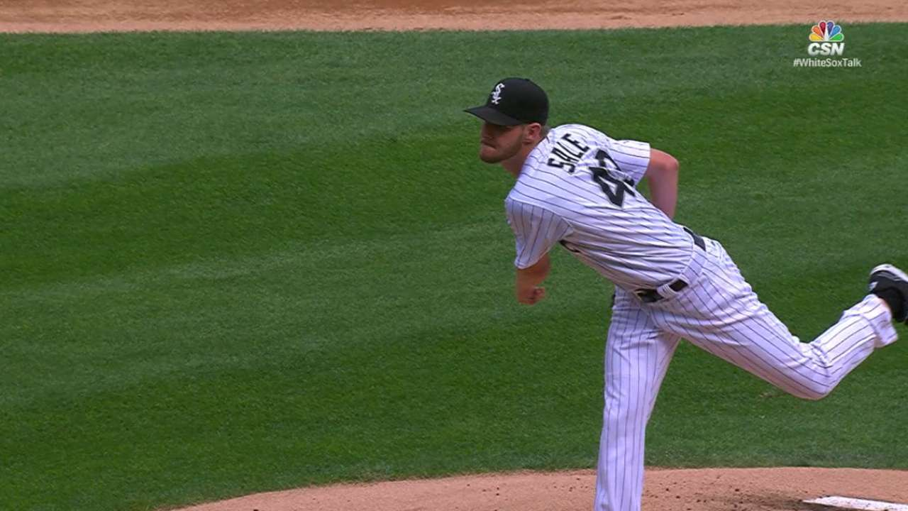 Sale's strong start vs. Tigers