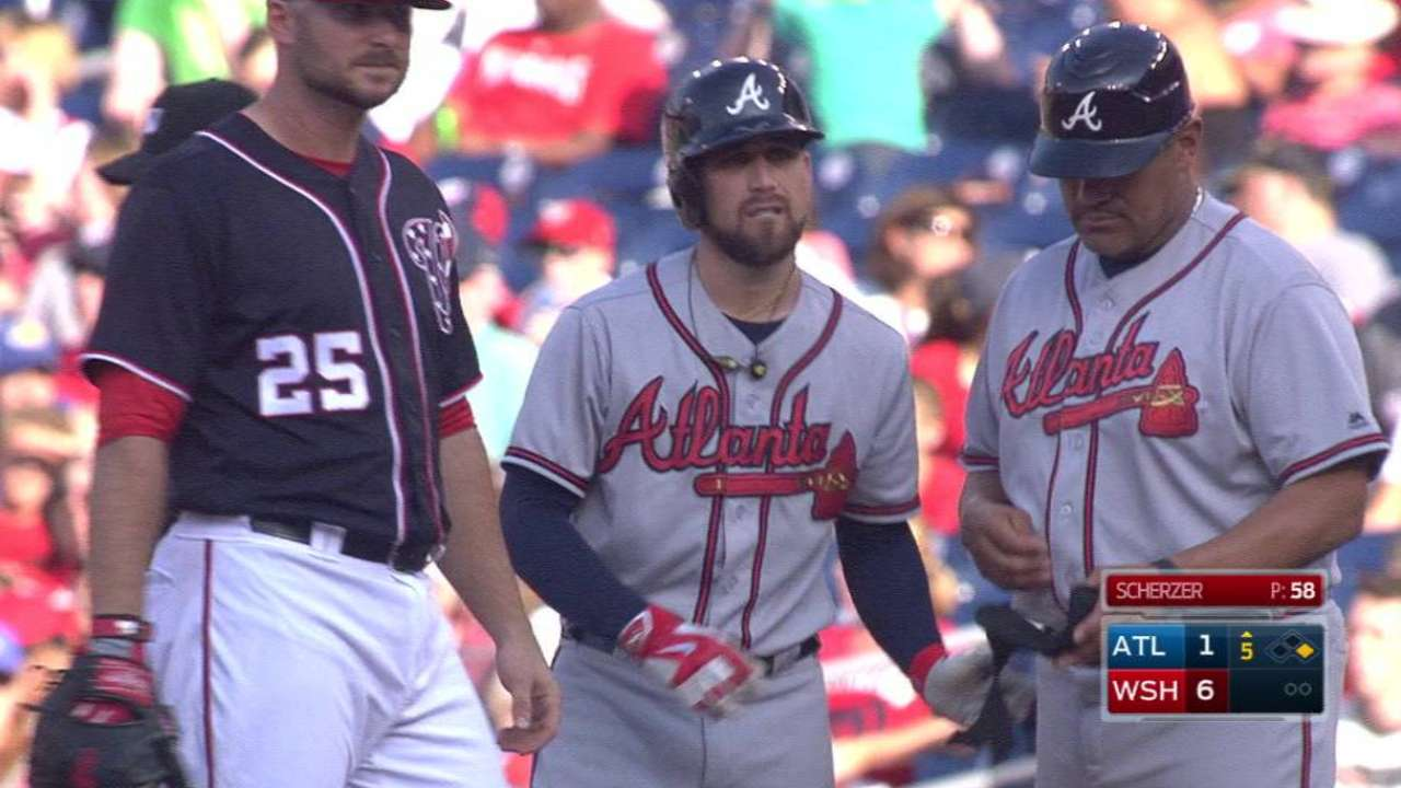 Inciarte's single extends streak
