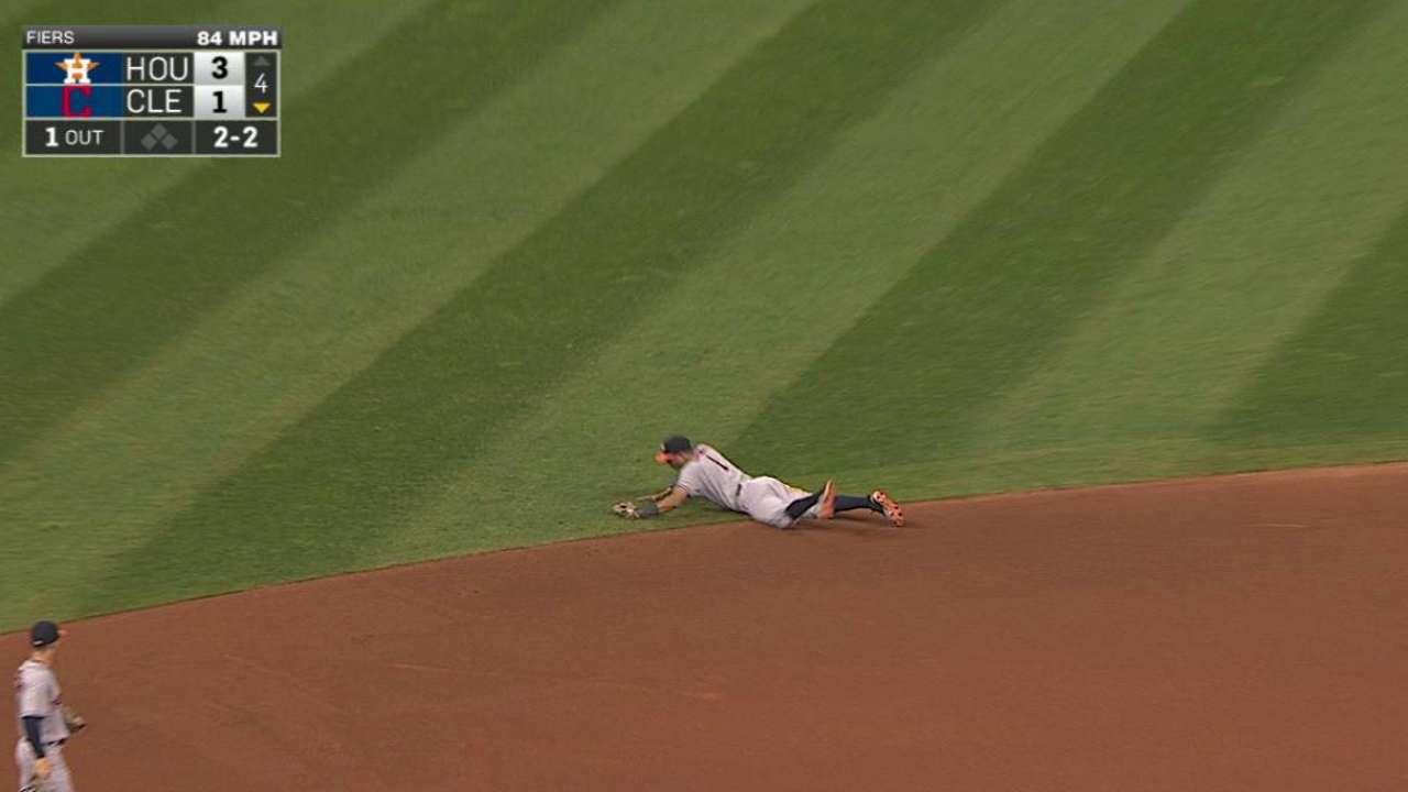 Correa's awesome play