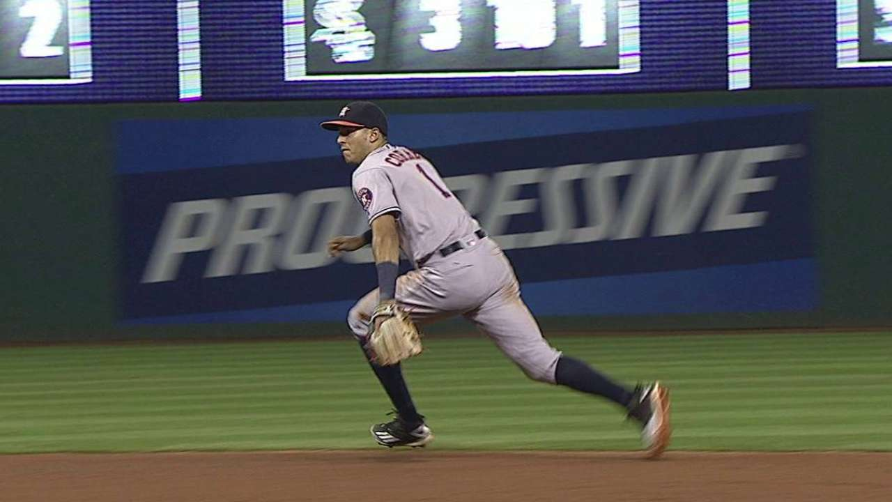 Correa's second great play