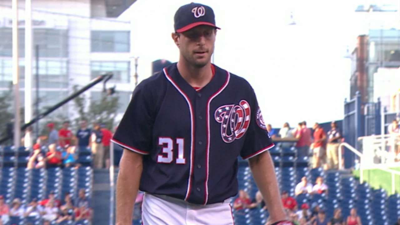 Scherzer's 16th victory