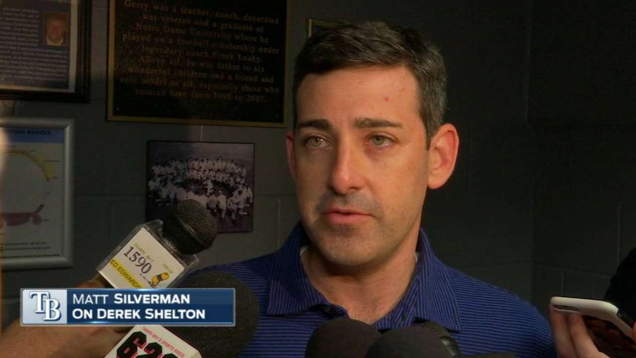 Shelton out, Mottola in as Rays hitting coach