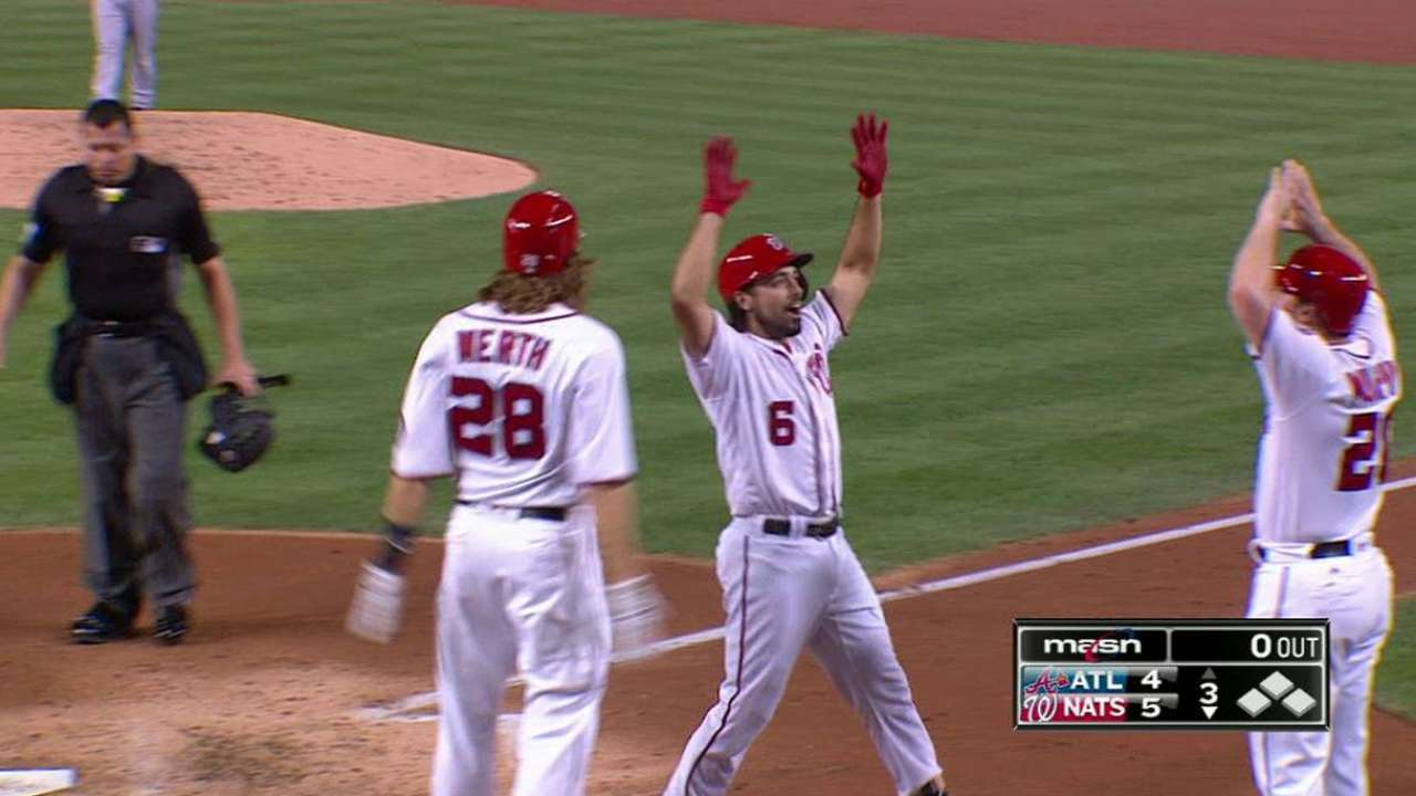 Rendon stays hot in grand fashion with 1st slam
