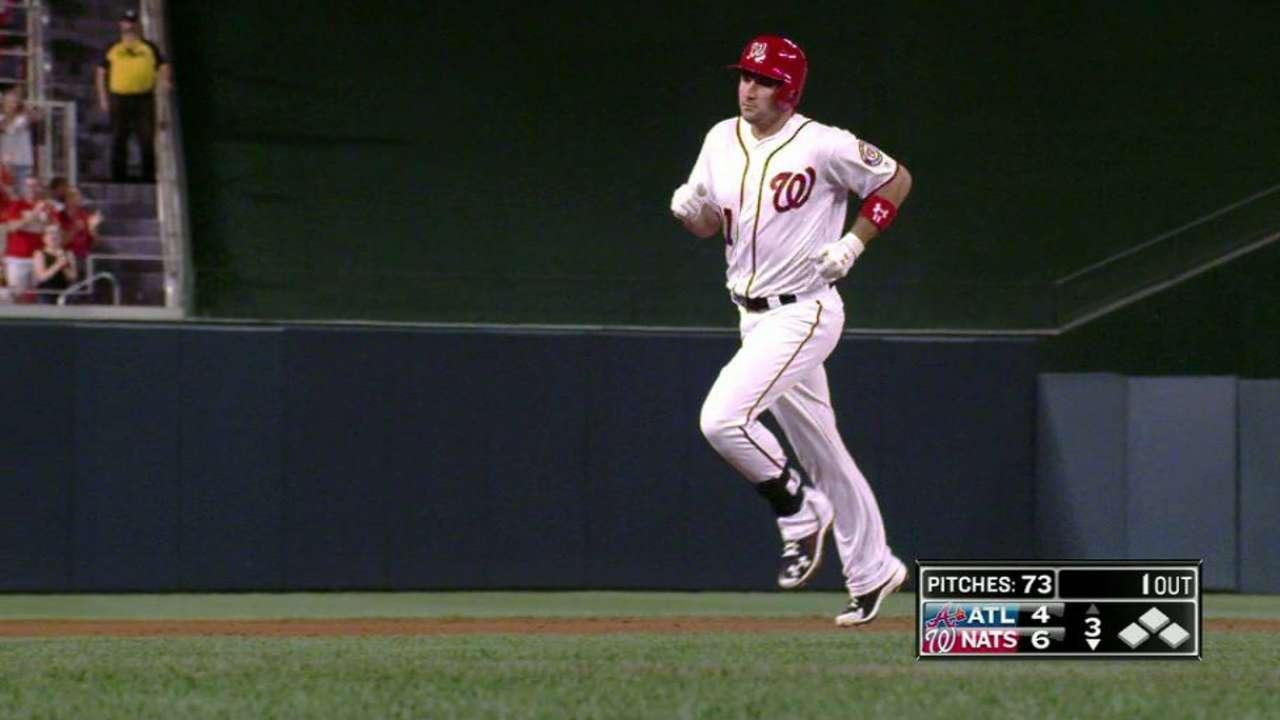 Zimmerman's solo homer