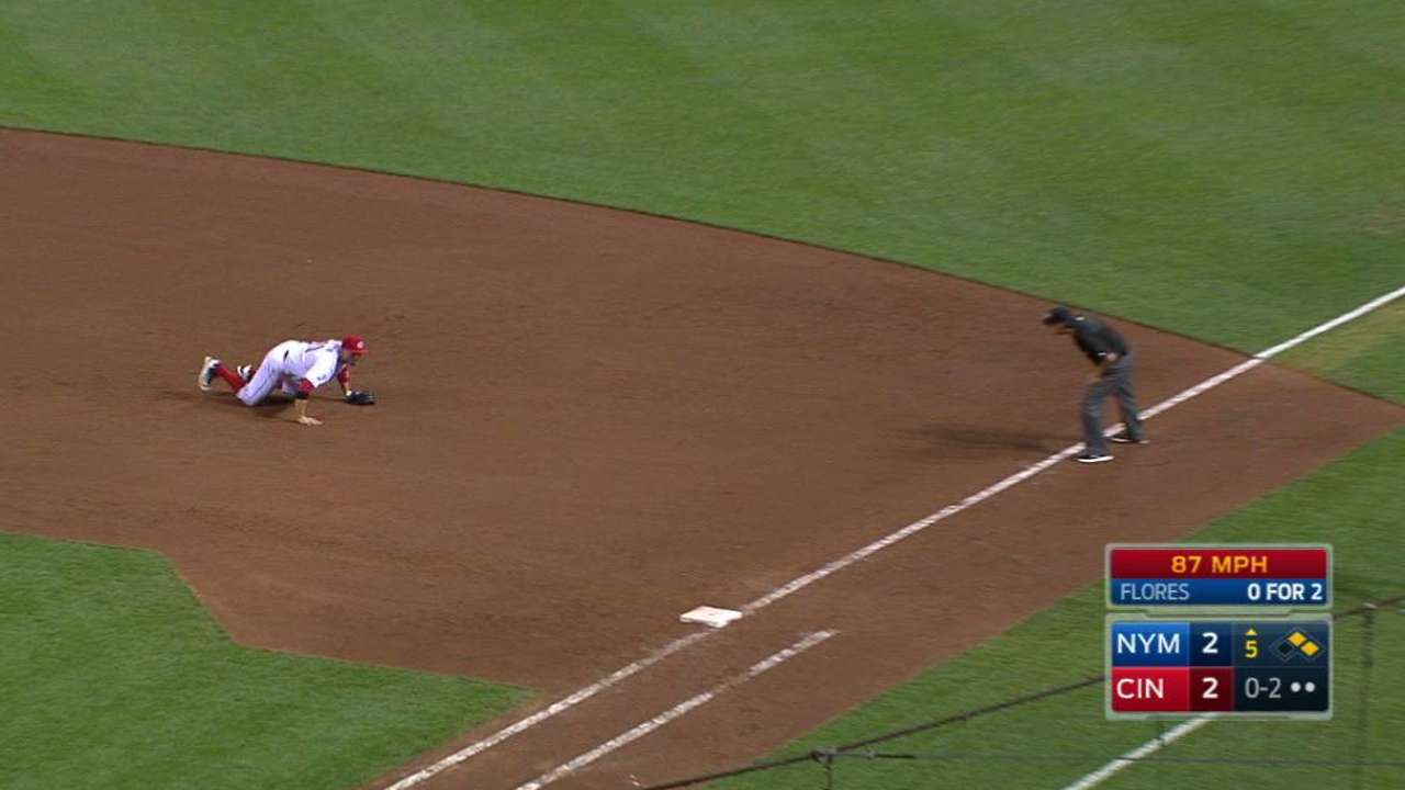 Votto's awesome catch