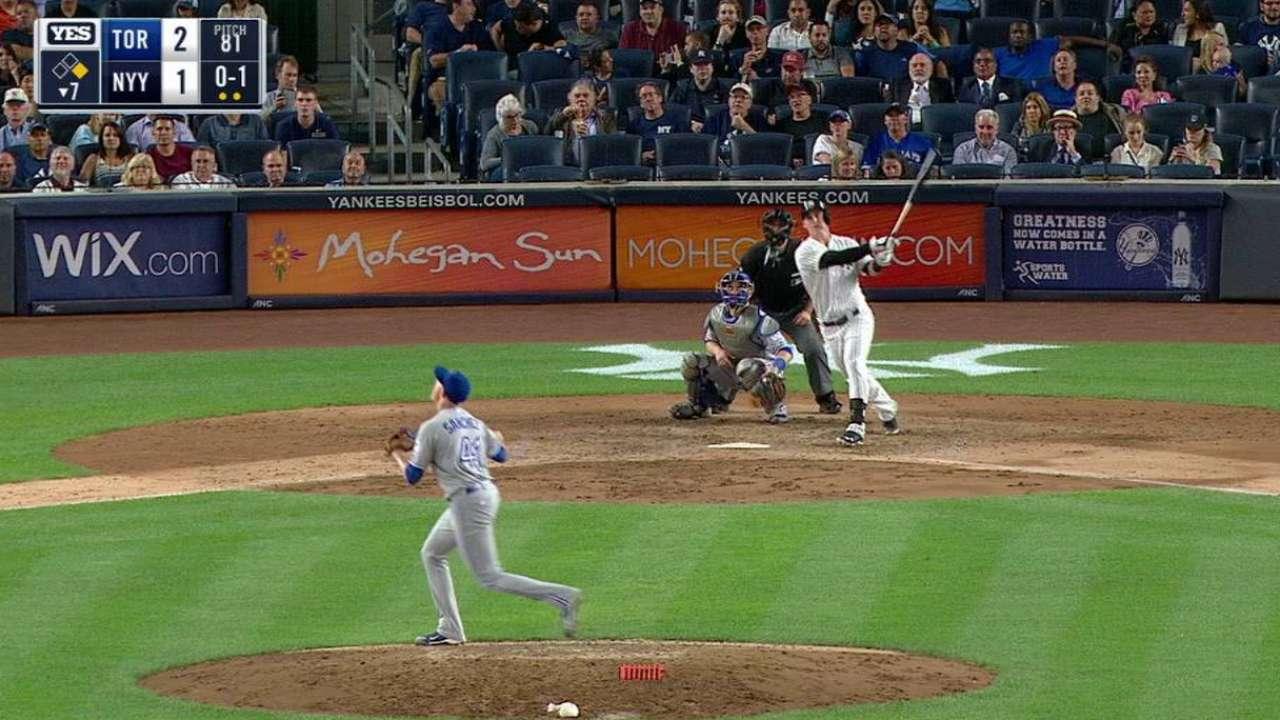 Austin's two-run homer