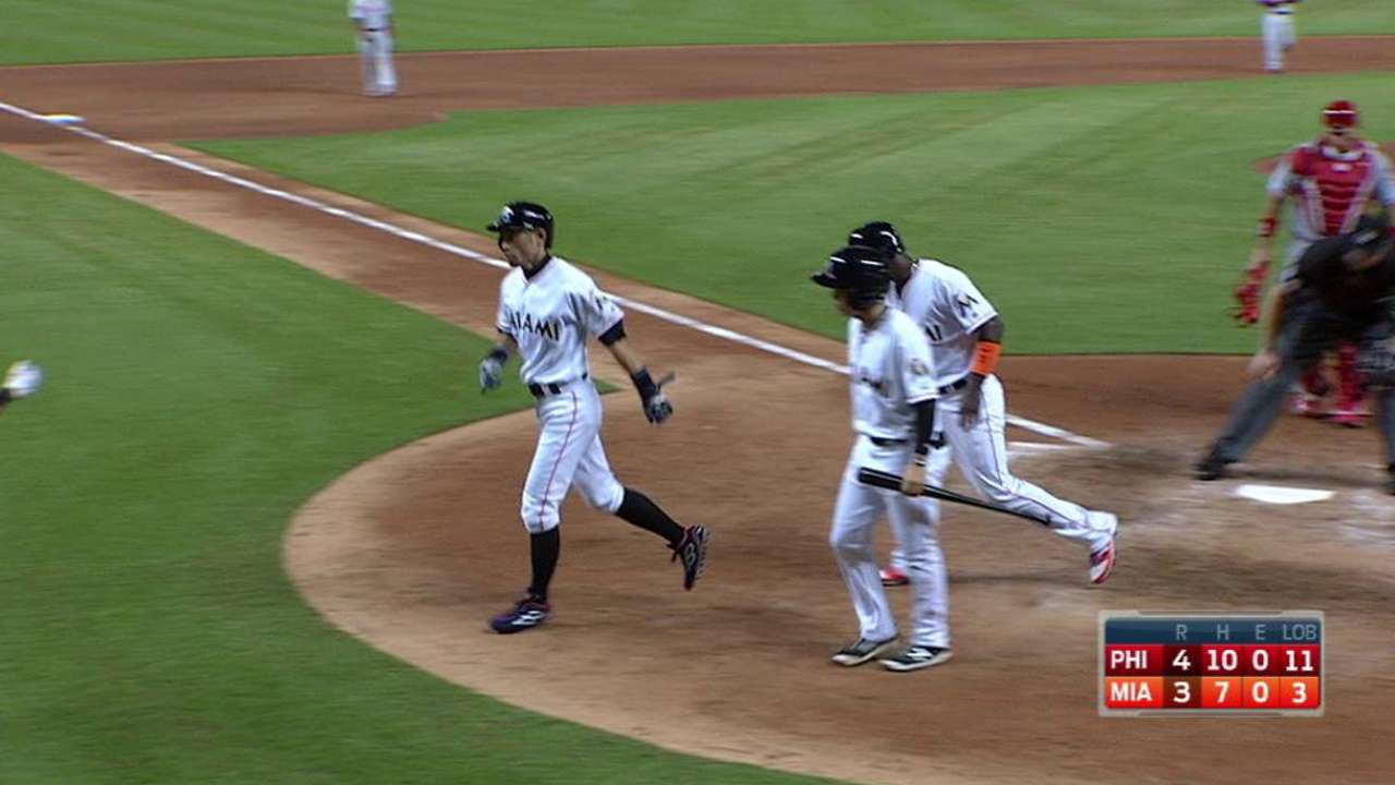 Ichiro's HR highlights 2016's one-time events