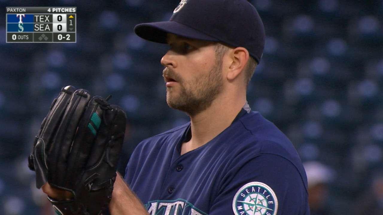 Paxton's four-K 1st inning