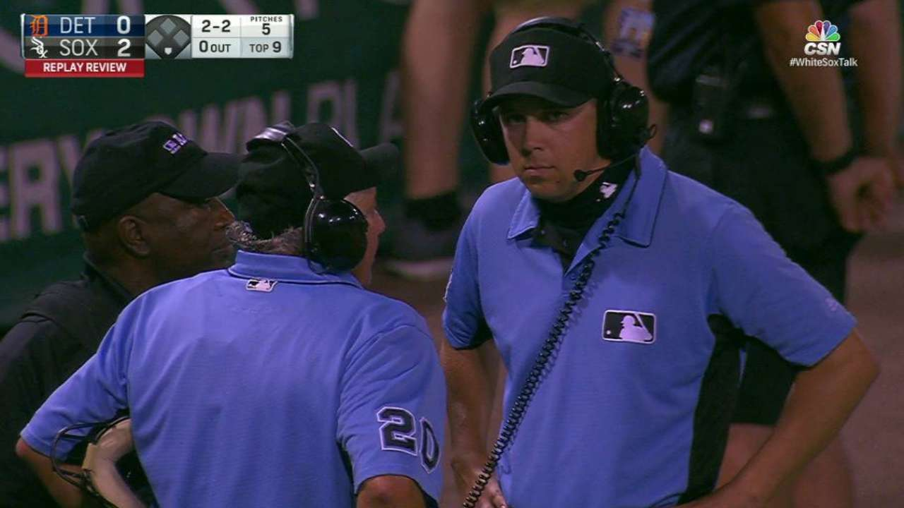 Foul call stands