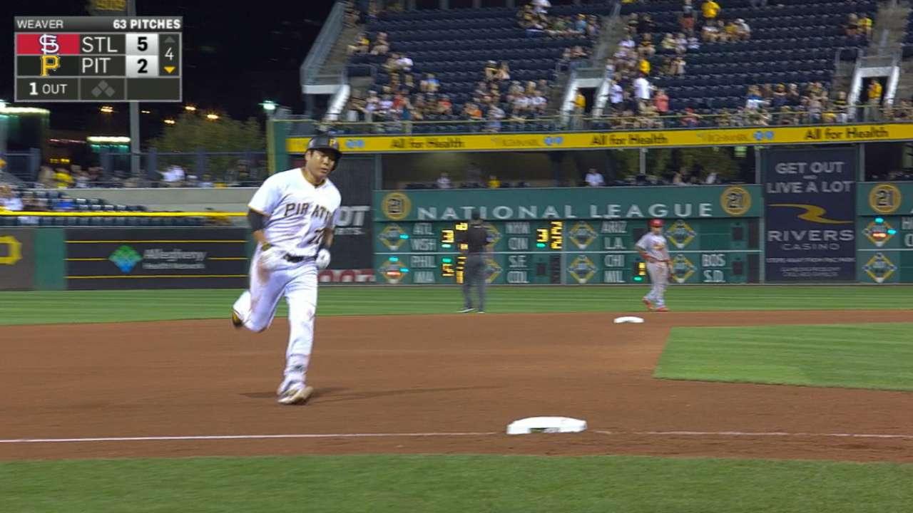 Kang's two-homer night