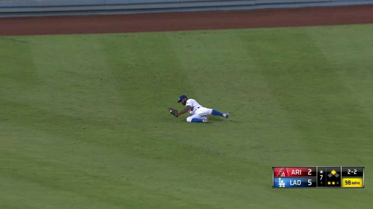 Pedro Báez busca recuperar la forma en los Dodgers