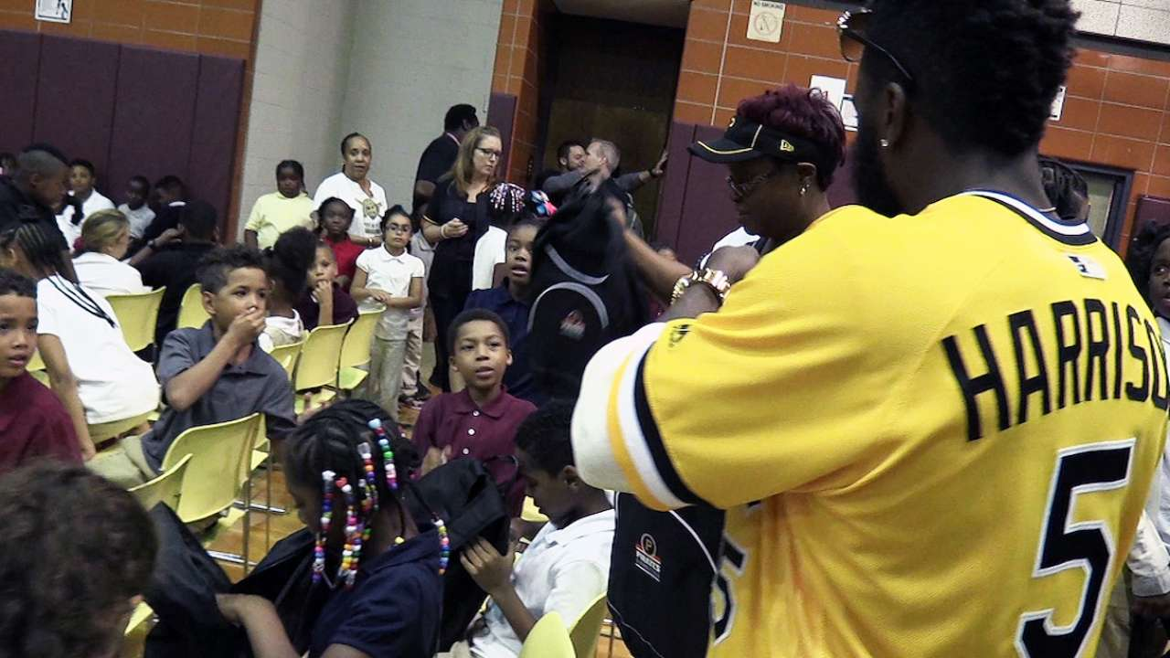 Pirates celebrate annual Clemente Day