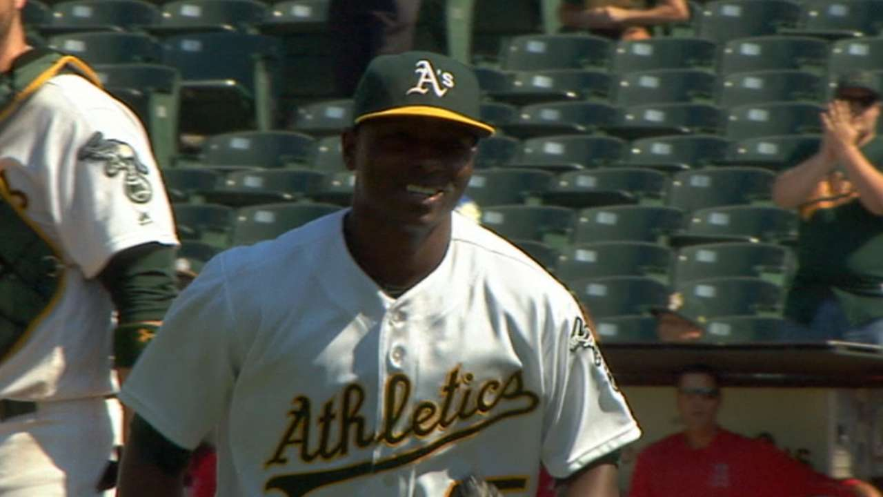 Cotton gets 1st MLB win, Alonso has 3 hits for A's
