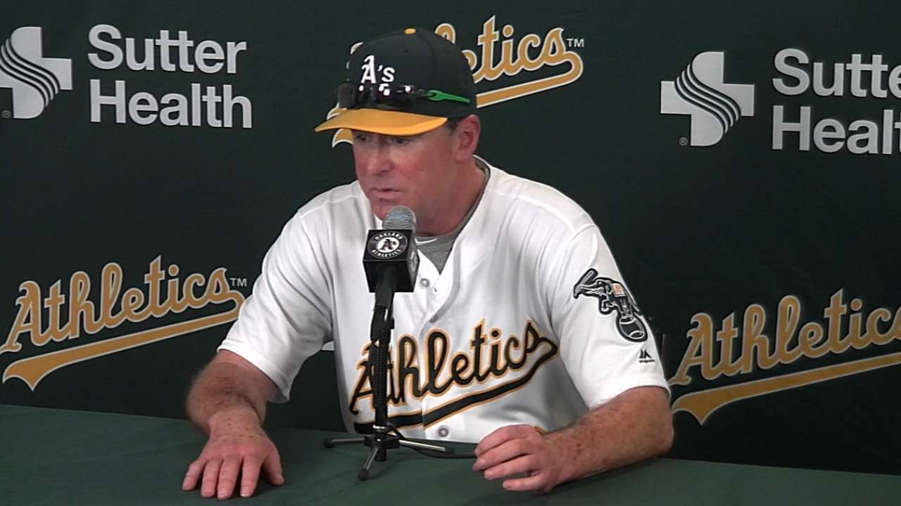 Melvin on A's victory