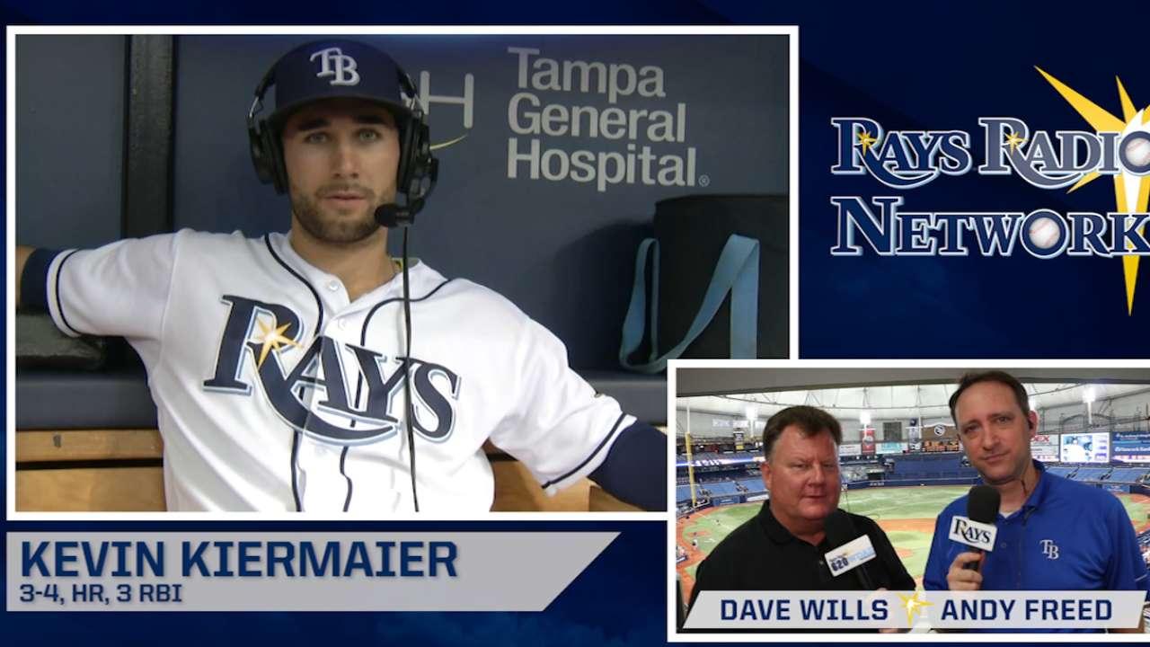 Kiermaier joins Rays Radio