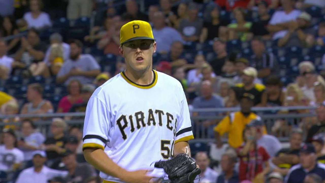 Taillon deflects ball for out